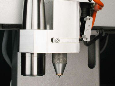 Marking unit 350: marking head with optional camera